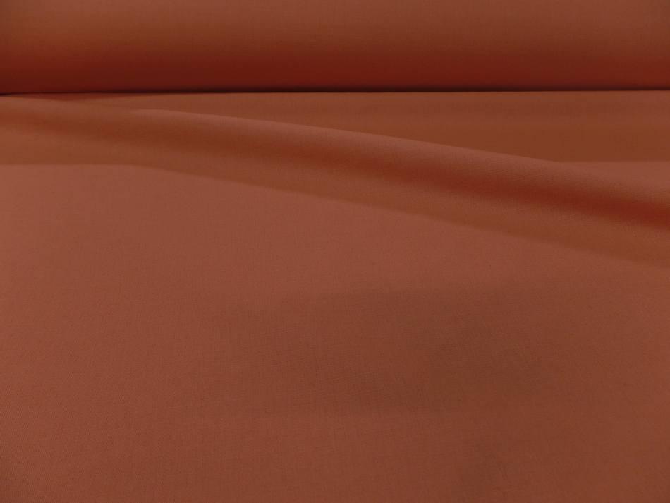 Toile de lin 100 % orange abricot