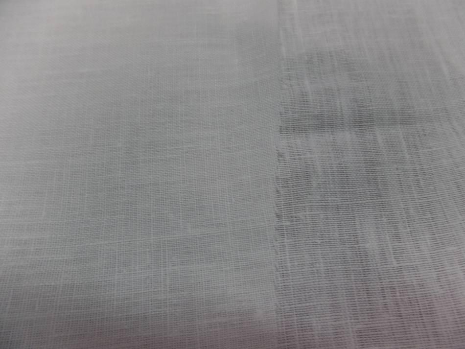 Toile de lin 100 ton blanc casse pas cher