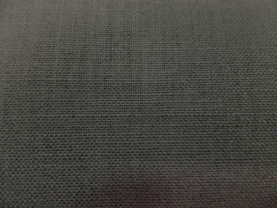 tissu Toile de lin  a peindre d'ameublement calandrée tondue en 2.20m de l