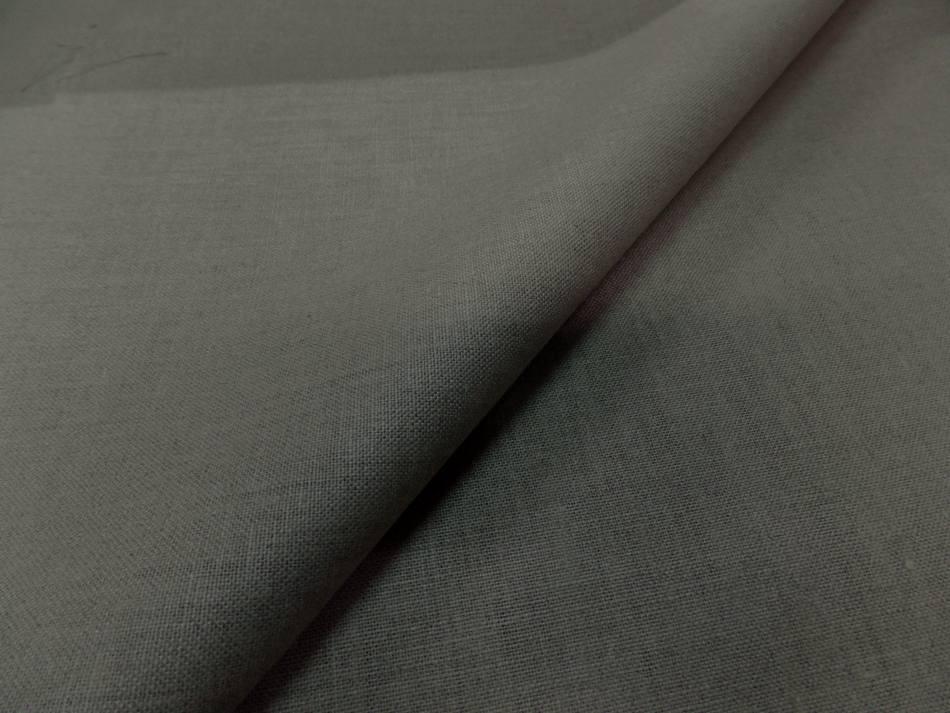 tissu Toile de lin  a peindre d'ameublement calandrée tondue en 2.20m - 220gr m²