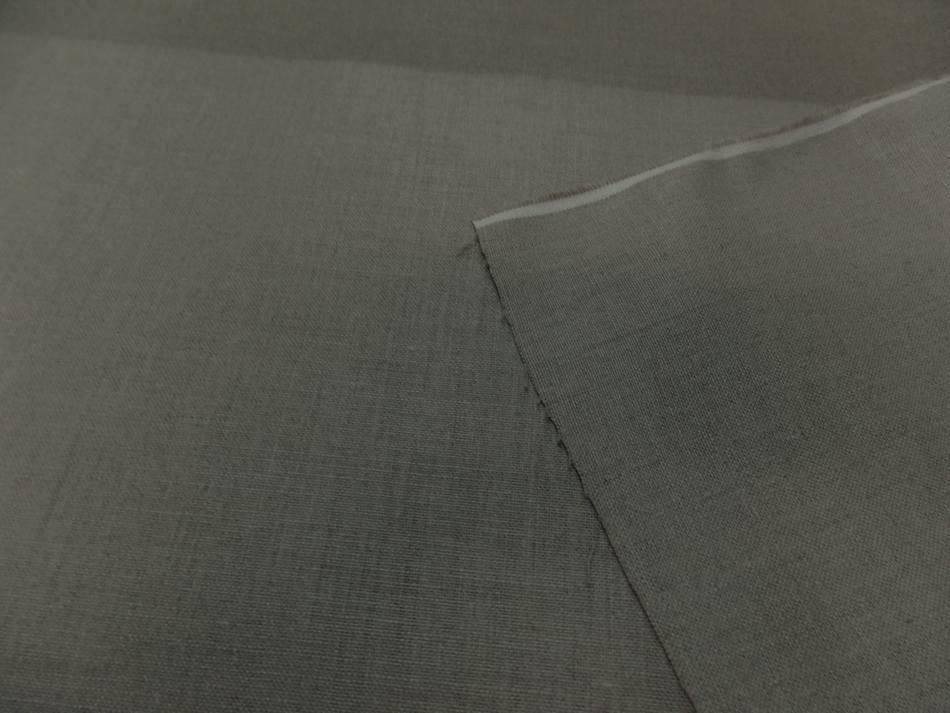 tissu Toile de lin  a peindre d'ameublement calandrée tondue sur Marseille