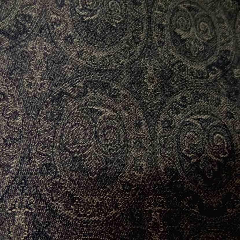 Toile en coton legere d ameublement motifs medaillons2