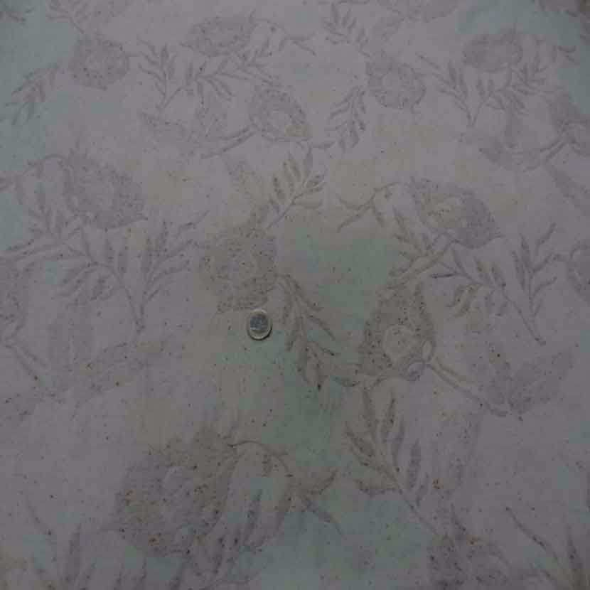 Toile legere beige faconne tweed et brode6