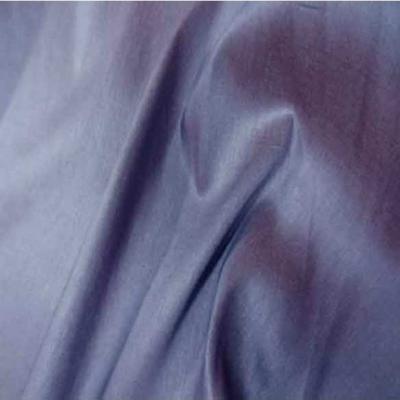 Toile legere d ameublement changeant rouille bleu