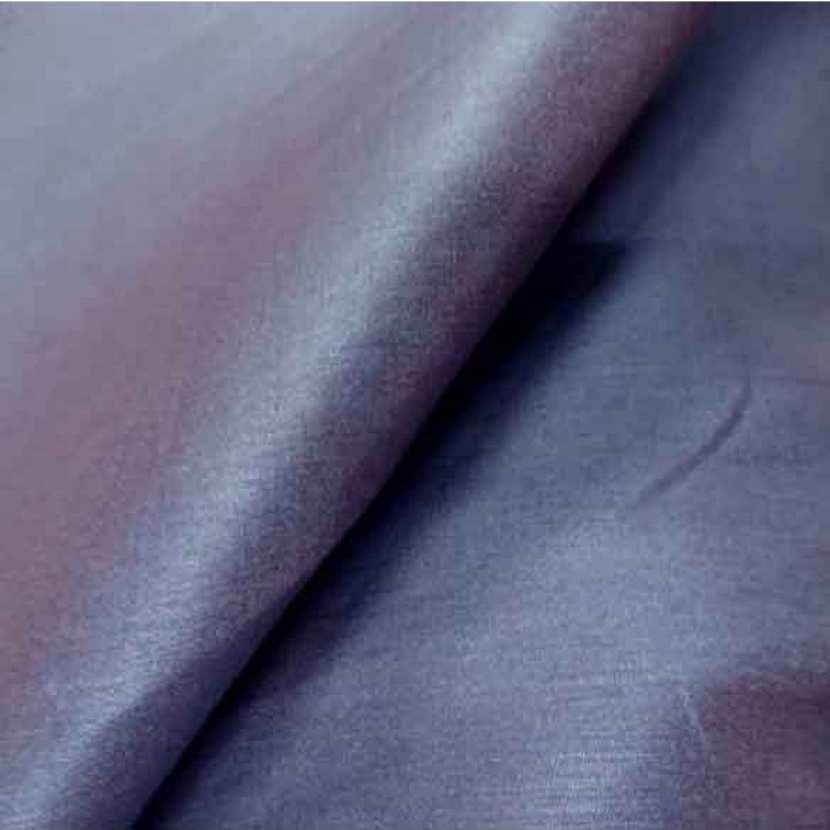 Toile legere d ameublement changeant rouille bleu4