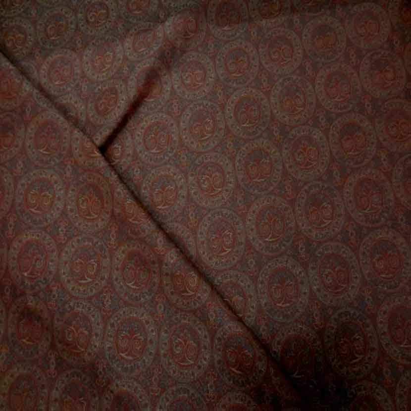 Toile legere d ameublement motifs medaillons5