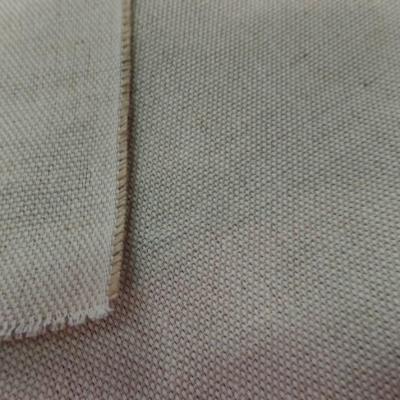 Tissu toile natté écrue coton jute 340 gr m² en 2 80 large