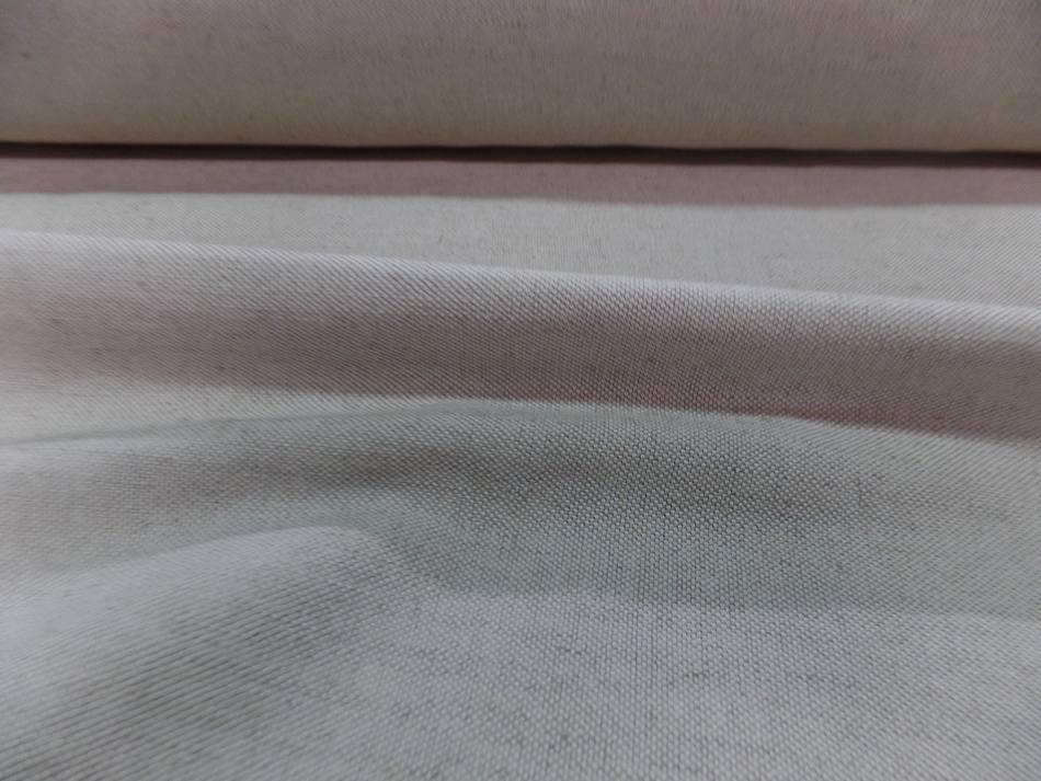 tissu Toile Natté écrue 55% coton 45% lin 320 gr m² en 2.80 l PAS CHER