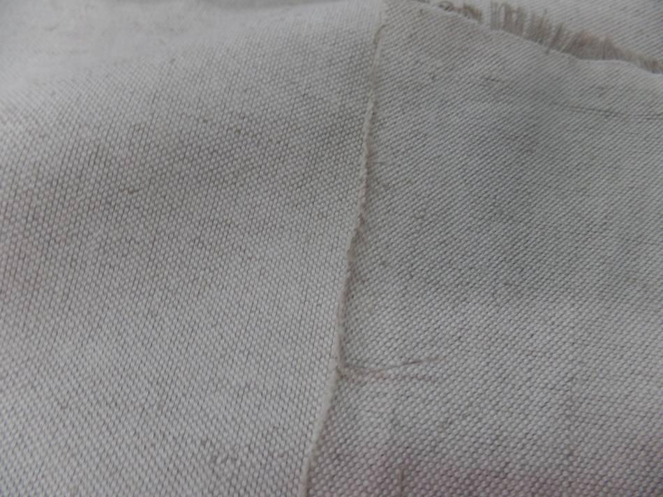 tissu Toile Natté écrue 55% coton 45% lin 320 gr m² en 2.80 l EN LIGNE