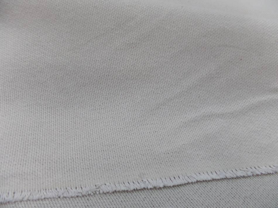 tissu Toile natté écrue 95% coton 5%lin 410 gr m² en 2.80 l sur Marseille