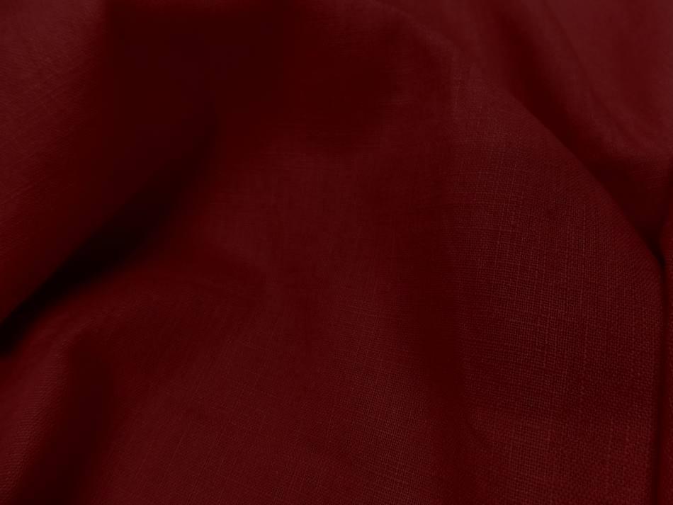 Tres beau lin 100 rouge5