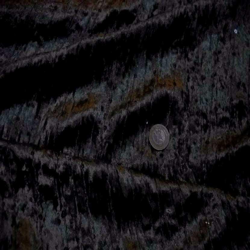 Tres beau velours souple noir a sequins06