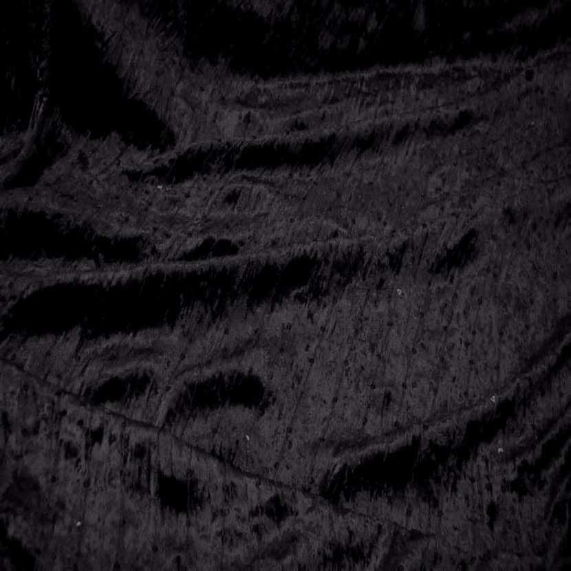 Tres beau velours souple noir a sequins6