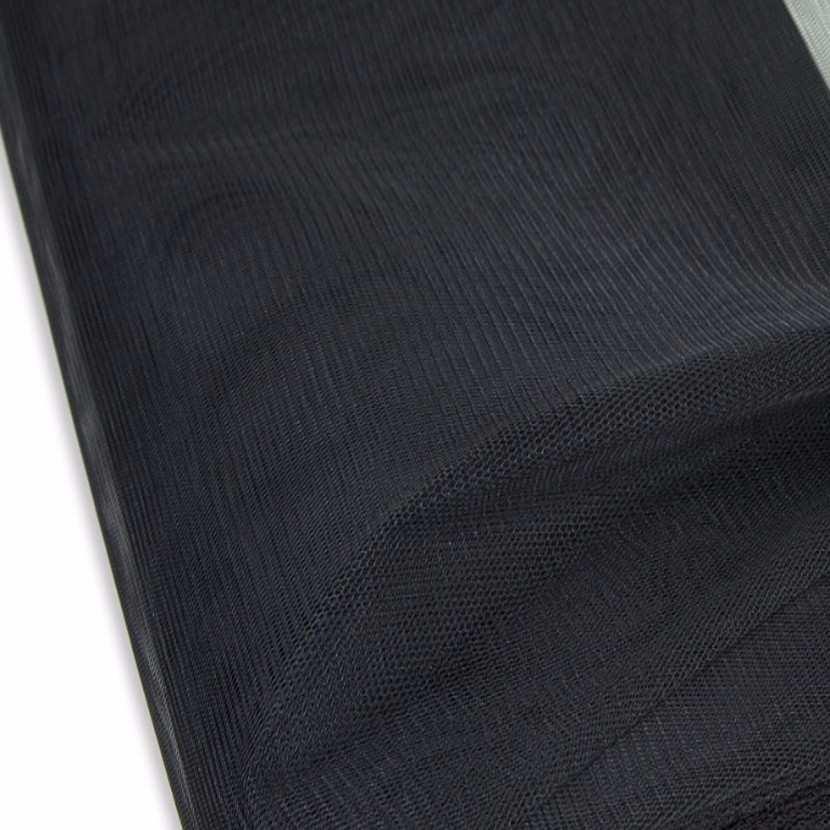 Tulle noir en 1 40m de large