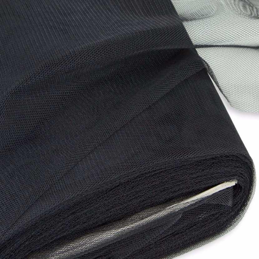 Tulle noir en 1 40m de large5