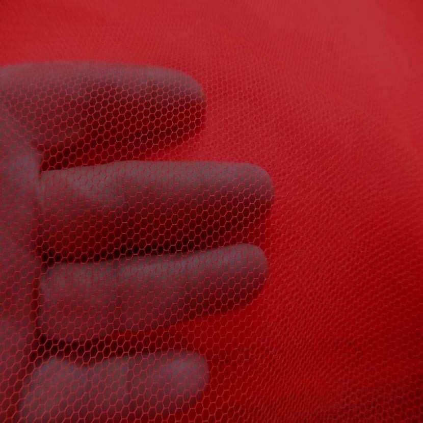 Tulle rouge en 1 40m de large1