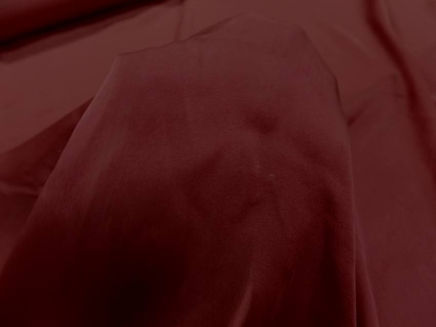 Twil de soie rouge bordeaux4