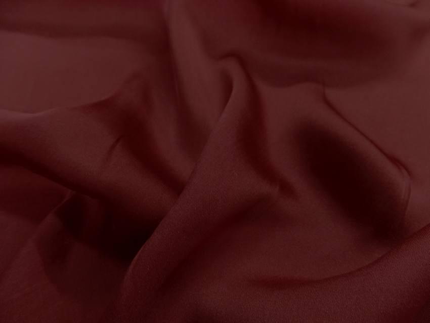 Twil de soie rouge bordeaux7
