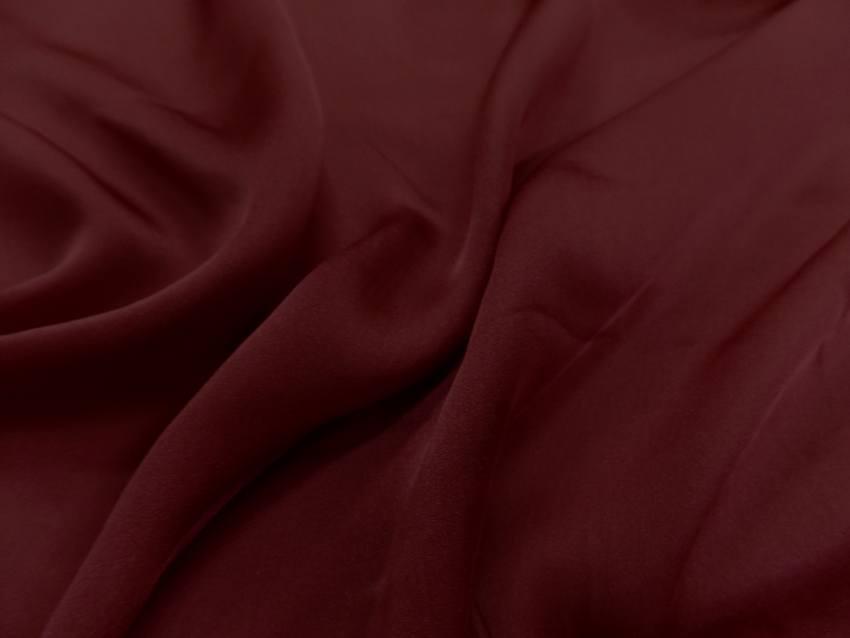Twil de soie rouge bordeaux9