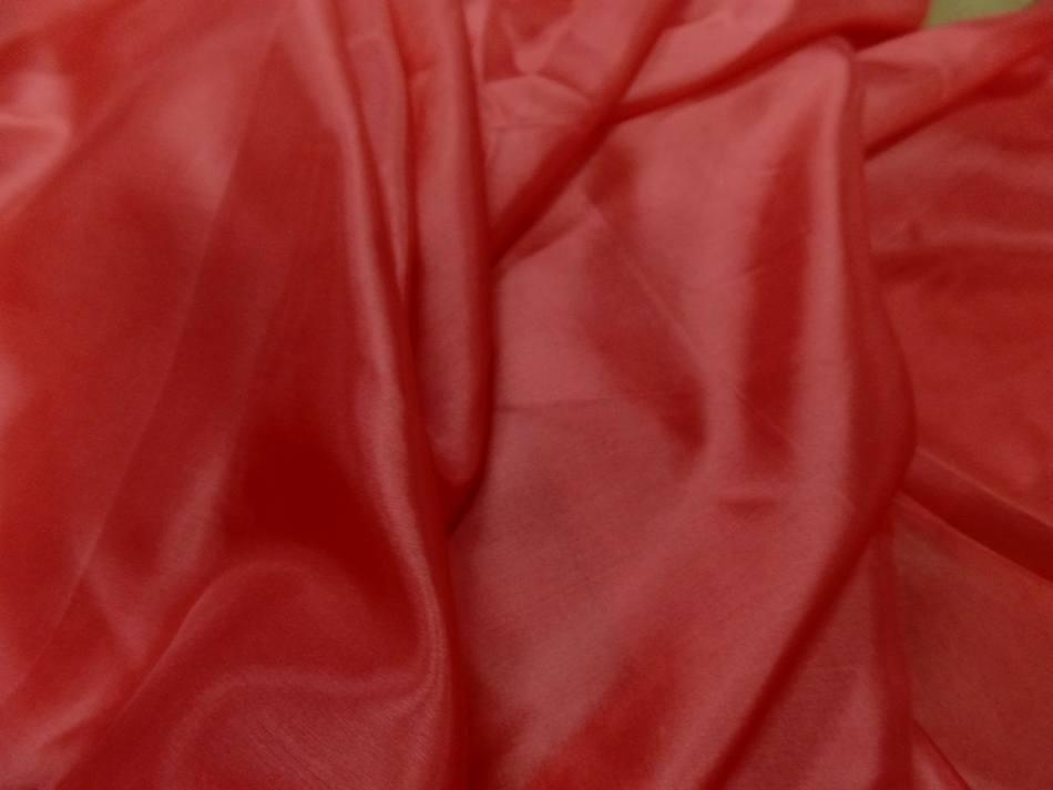 Twil de soie tres fin rouge vermillon5