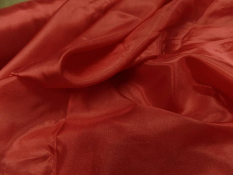 Twil de soie tres fin rouge vermillon7