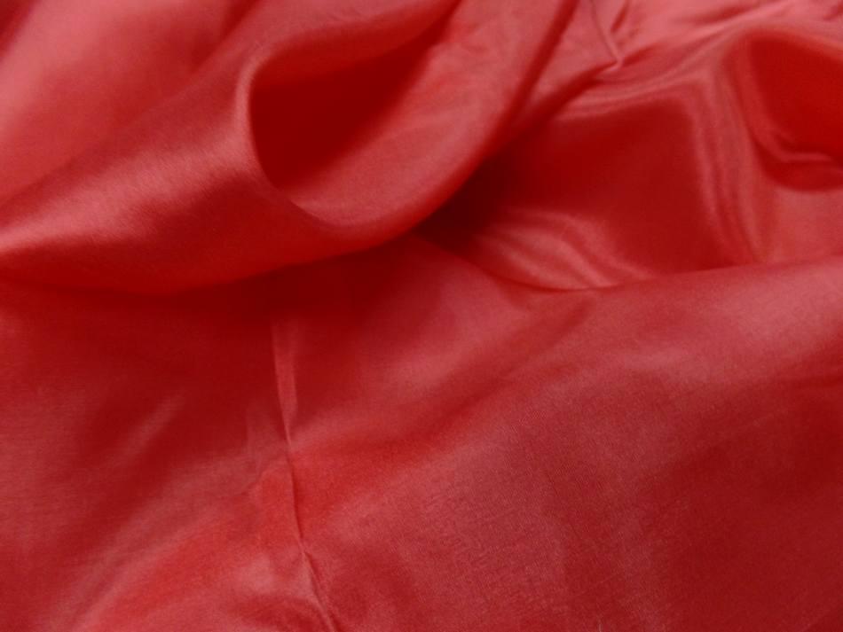 Twil de soie tres fin rouge vermillon9