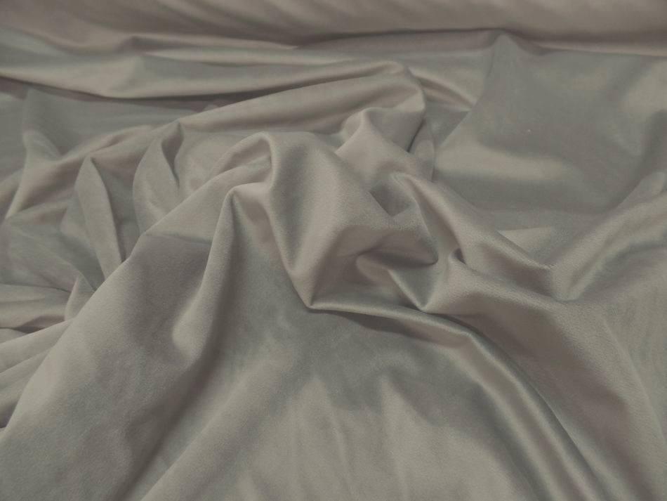 vente de velours ameublement lisse beige en 1.45m de large