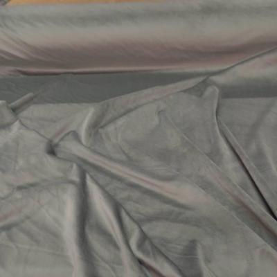 Velours ameublement lisse beige kaki en 1 45m de large