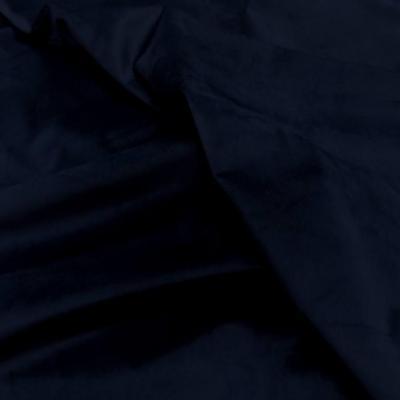 Velours ameublement lisse bleu en 1 45m de l39