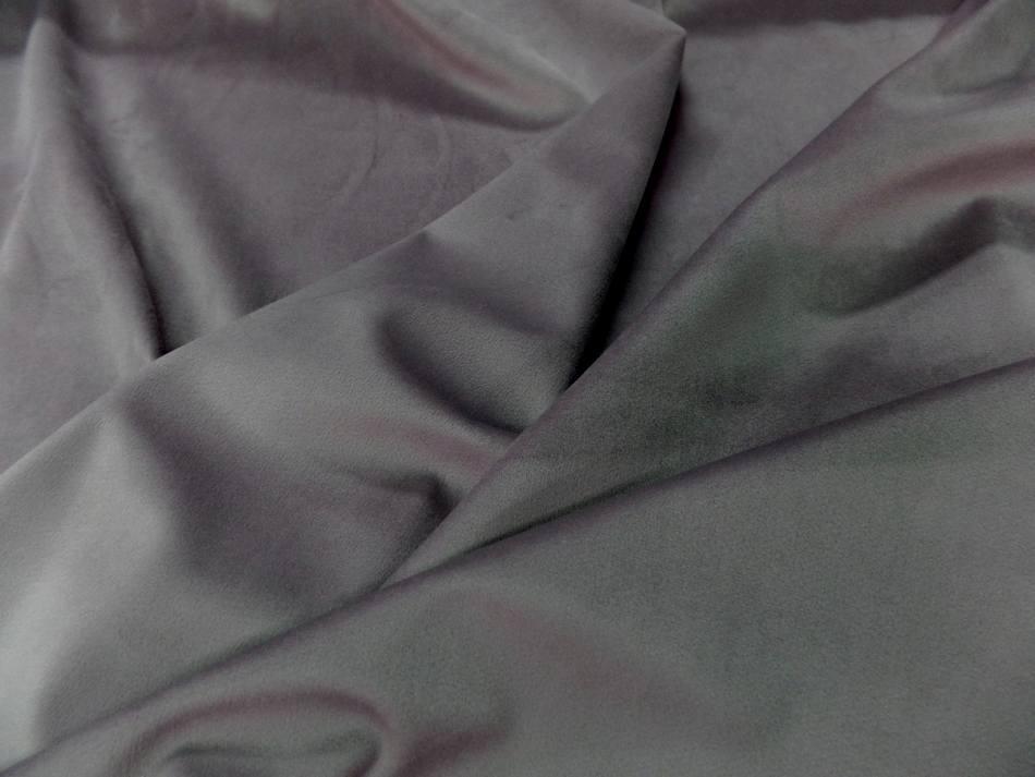 tissu velours ameublement lisse flamingo en 1.45m de large