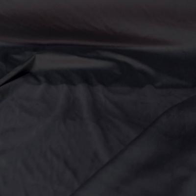 Velours ameublement lisse gris foncé au mètre