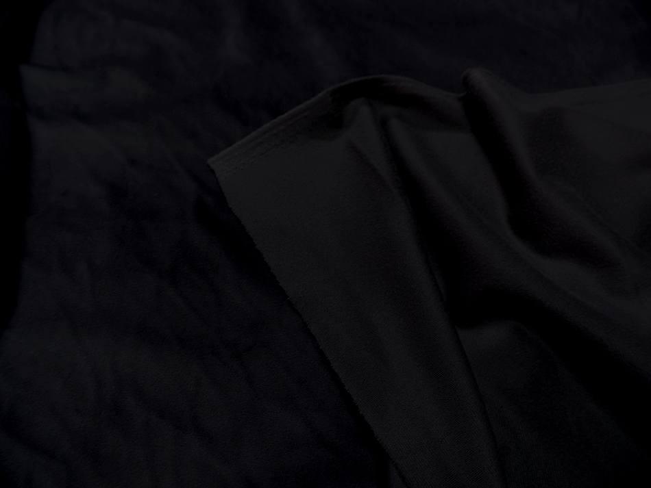 Velours ameublement lisse noir en 1 45m de large9