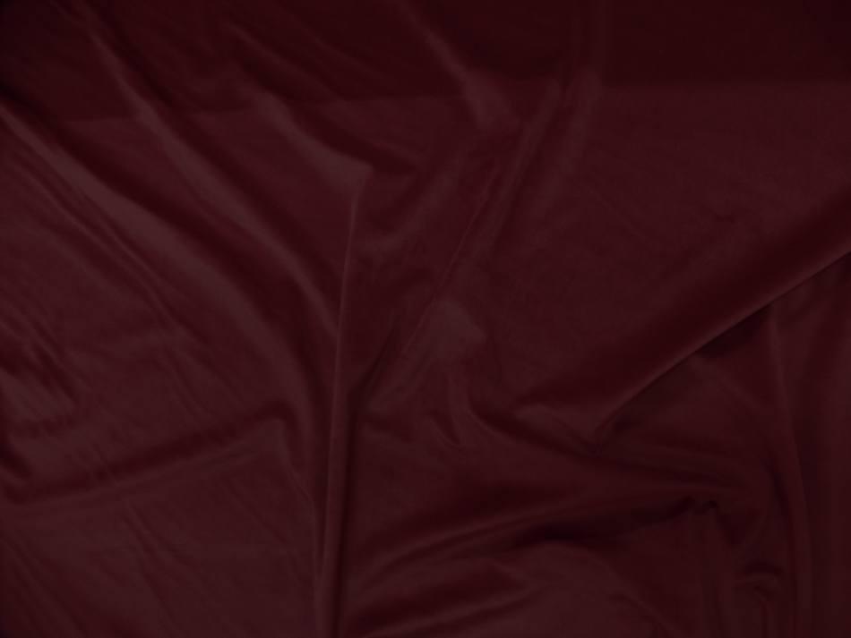 velours ameublement lisse rouge bordeaux vente a Marseille