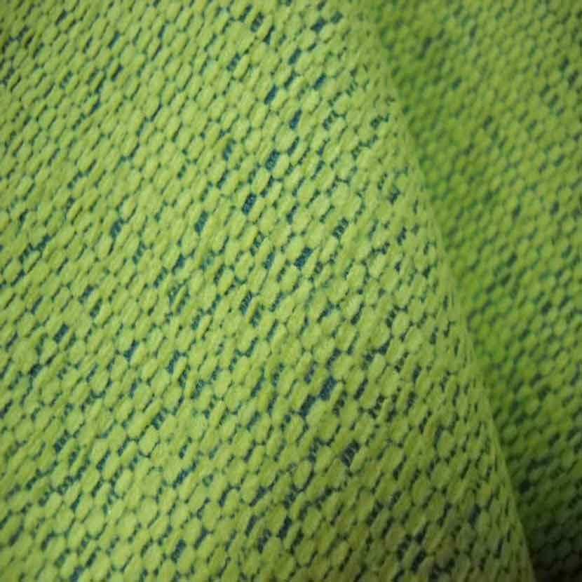 Velours coton d ameublement jaune clair et bleu6