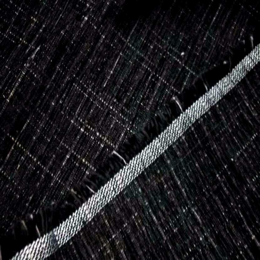 Velours coton noir pour l ameublement chine blanc