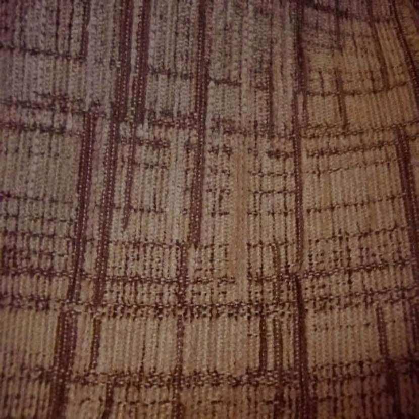 Velours coton pour l ameublement ton beige marron16