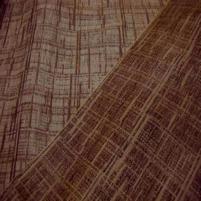 Velours coton pour l ameublement ton beige marron5