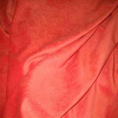 Velours ras orange rouille sans cotes