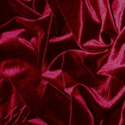 Velours velvet 5000 rouge bordeaux