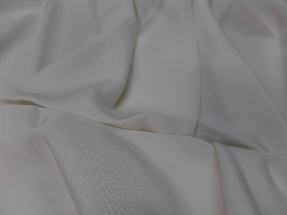 Vente de coupon de tissu beau crepe de soie blanc en ligne