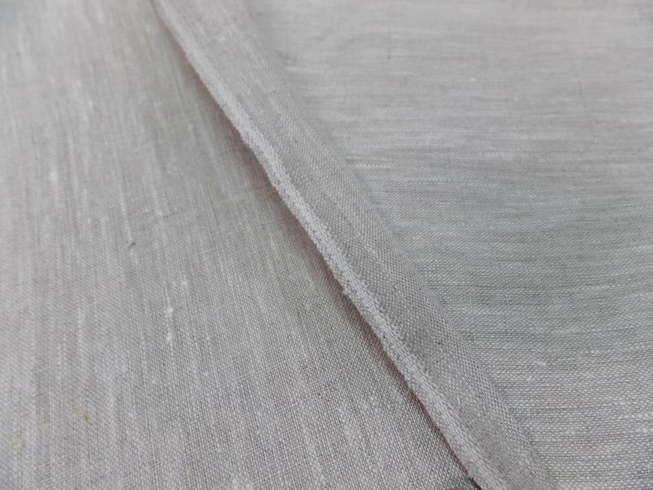 Vente de tissu toile de lin 100 ton beige naturel chine
