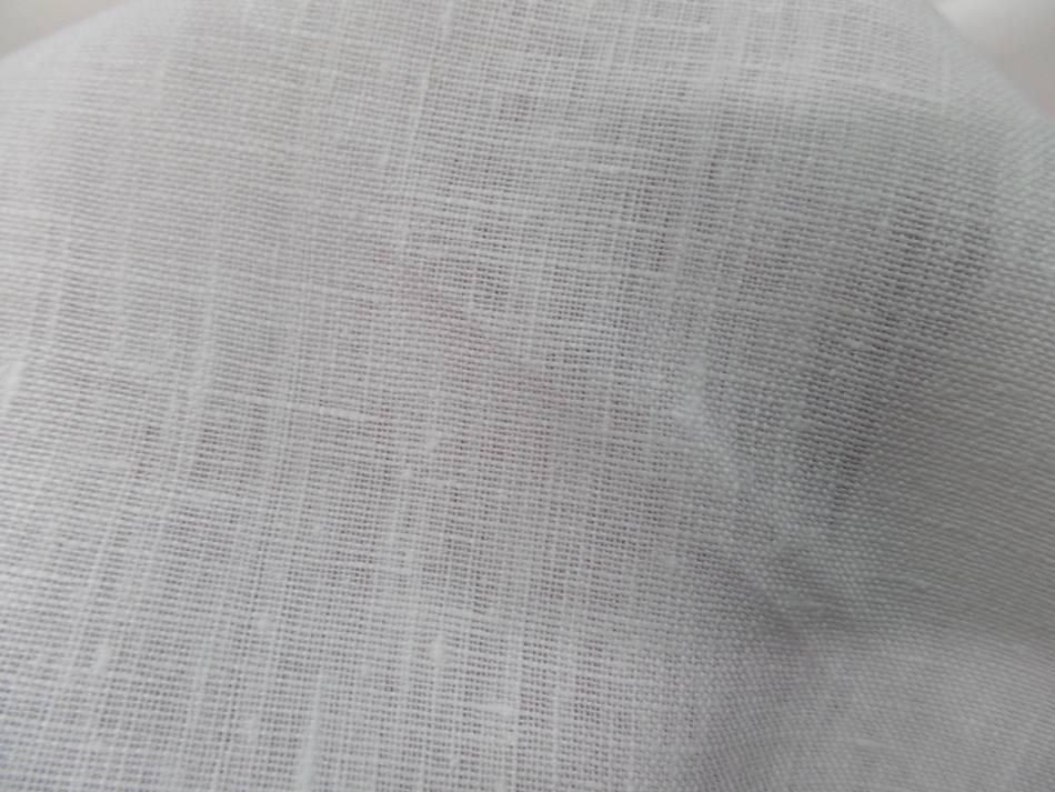 Vente de toile de lin 100 ton blanc casse