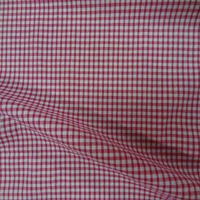 Vichy a petit carreaux blanc rose