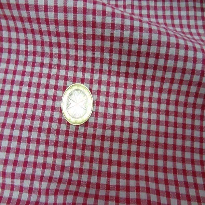 Vichy a petit carreaux blanc rose3