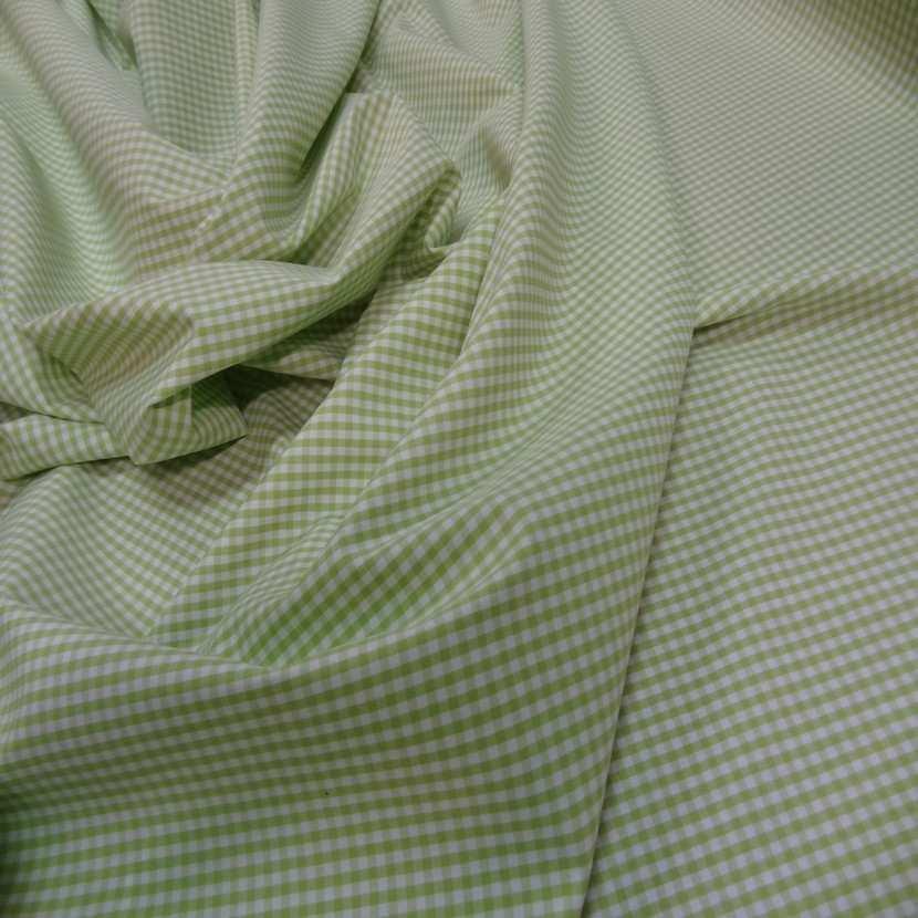 Vichy coton vert blanc8