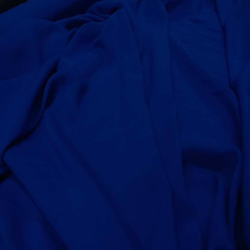Viscose uni bleu fonce
