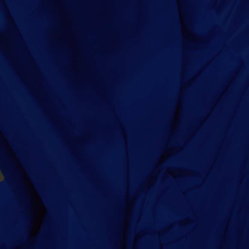Viscose uni bleu fonce9