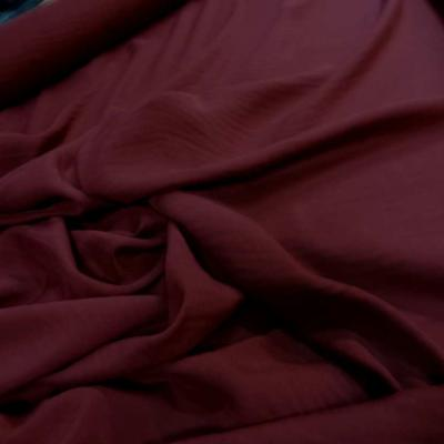 Viscose uni bordeaux