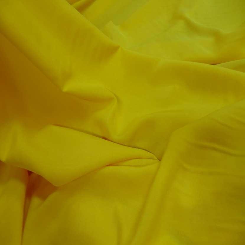 Viscose uni jaune4