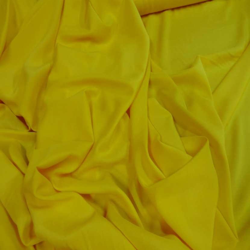 Viscose uni jaune6
